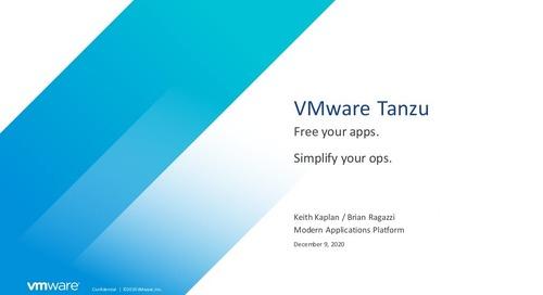 vSphere7 with Tanzu