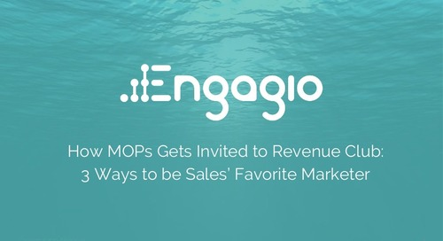 How MOPs Gets Invited to Revenue Club: 3 Ways to be Sales Favorite Marketer