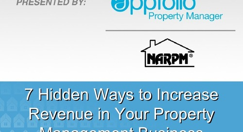 7 Hidden Ways to Increase Revenue in Your Property Management Business