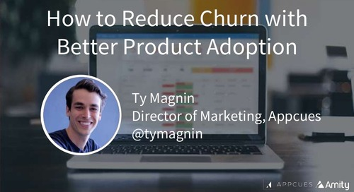 How to Reduce Churn with Better Product Adoption Slides