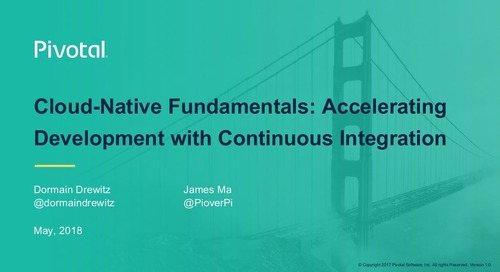 Cloud-Native Fundamentals: Accelerating Development with Continuous Integration