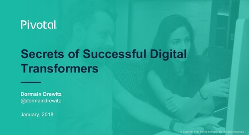 Secrets of Successful Digital Transformers