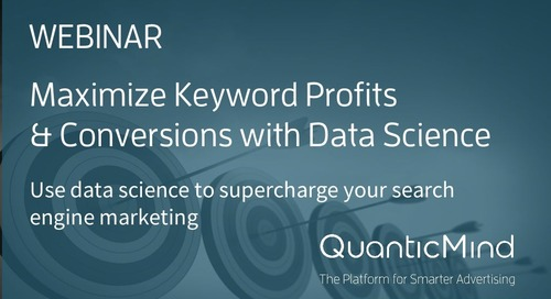 [Slide Deck] Maximize Keyword Profits & Conversions with Data Science