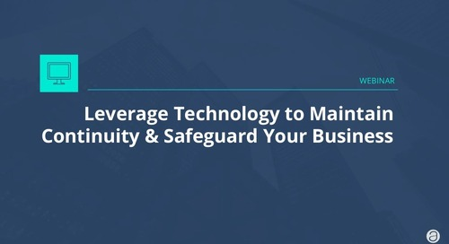 Leverage technology to strengthen communication and safeguard your business