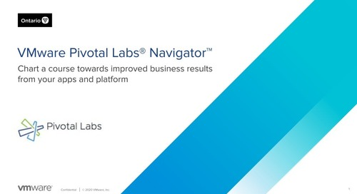 July 29: Achieve Stakeholder Alignment on Governance: Navigator by Pivotal Labs