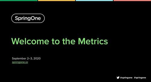 Welcome to the Metrics