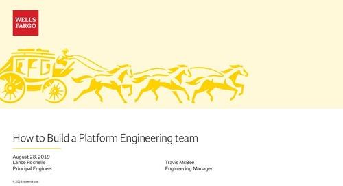 How to Build a Platform Team