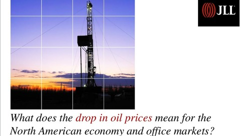 What the drop in oil prices means for the economy and office markets