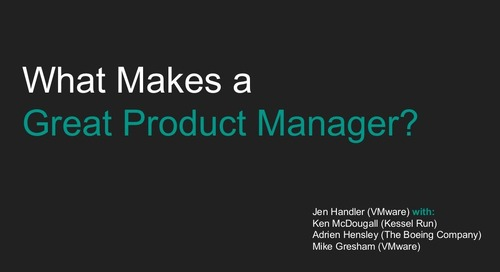 What Makes a Great Product Manager