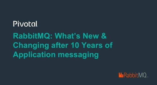 RabbitMQ: What's New & Changing after 10 Years of Application Messaging?