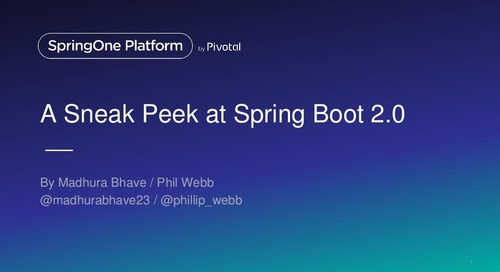 What's new in Spring Boot 2.0
