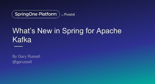 What's New in Spring for Apache Kafka 2.0