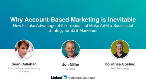 Why Account Based Marketing is Inevitable | Engagio