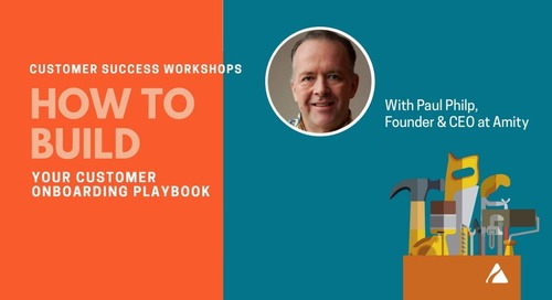 How to Build Your Customer Onboarding Playbook Slides