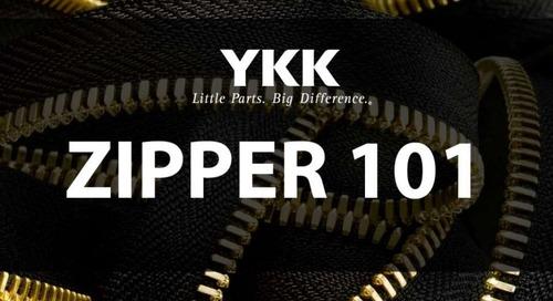 YKK® zippers 101