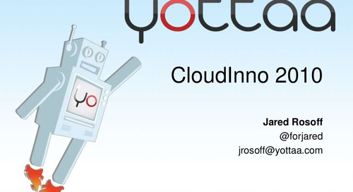 Yottaa CloudInno Overview and Demo - Web Performance Optimization (WPO) Service