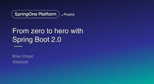 From Zero to Hero with Spring Boot