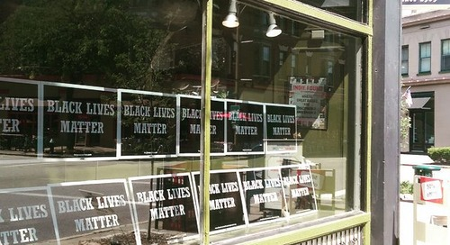 To the Angry Shopper Who Criticized Our Black Lives Matter Display