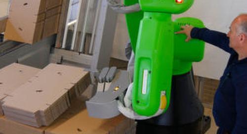 Cobots machen Getränkefabriken intelligenter