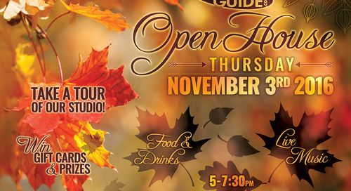 iG Open House! THIS THURSDAY!