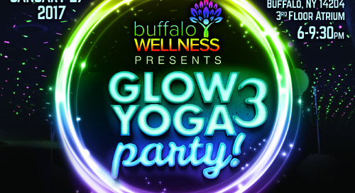 Glow Yoga at 500 Seneca!