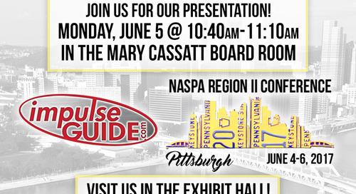 NASPA Region II | Pittsburgh, PA | 2017!!