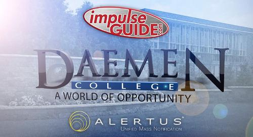Alertus | Daemen College Case Study