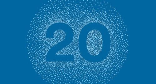 Celebrating 20 years of innovation