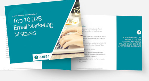 Top 10 B2B Email Marketing Mistakes