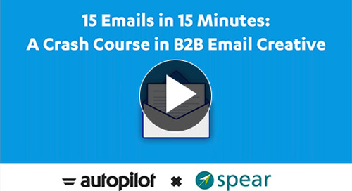 15 Emails in 15 Minutes: A Crash Course in B2B Email Creative