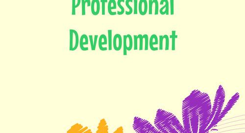 Summer Break: Time for Professional Development