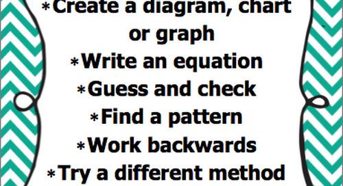 Math Problem Solving Strategies (Intermediate) - Lesson Plan & Templates