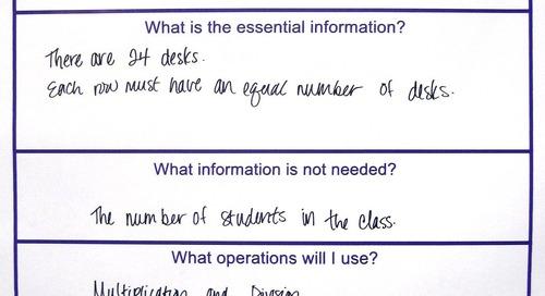 Grades K-5 Activity: Solving Word Problems