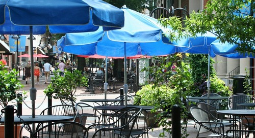 Outdoor dinning Jersey City