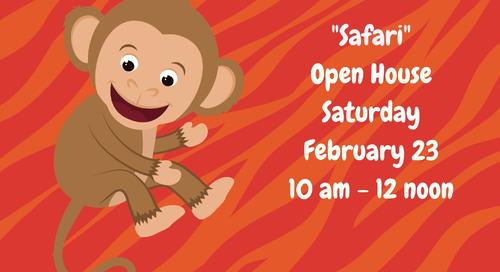 "Camp Riverbend ""Safari"" Open House Feb 23"