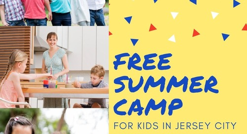 Free Summer Camp for Kids in Jersey City