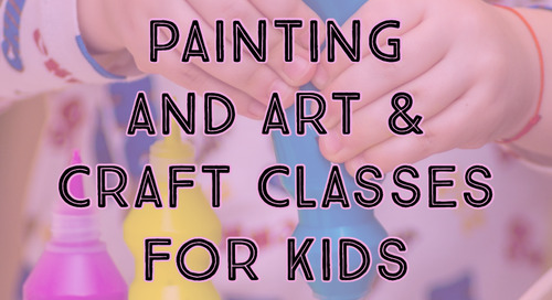 Painting and Arts & Crafts Classes For Kids in JC and Hoboken:
