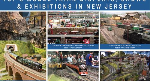 Top 5 Model Train Displays, Shows & Exhibitions in NJ
