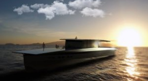 Solar-powered Solaris superyacht concept