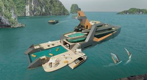Time: Radical explorer concept from BMT Nigel Gee and Henry Ward Design