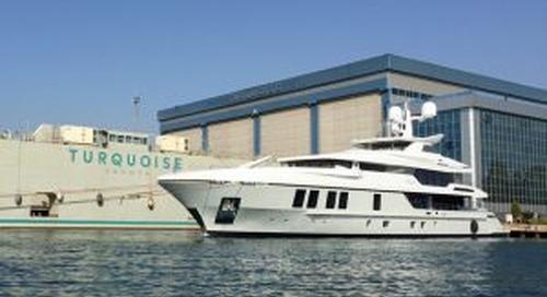 Turquoise 47-metre Razan launched
