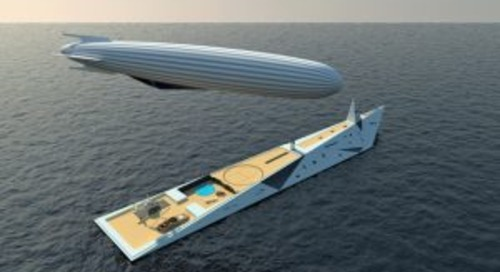 The amazing superyacht airship concept