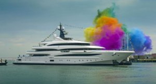 CRN 74-metre Cloud 9 launches