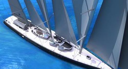 114-metre sailing concept Endurance