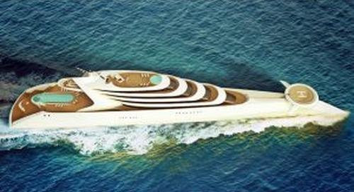 Meet L'Amage: the 190-metre superyacht concept
