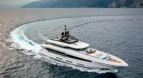 On board the Mangusta Oceano 42