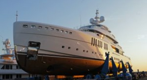 Launched! 67-metre Benetti Seasense
