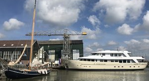 38-metre Soprano launches from Hakvoort