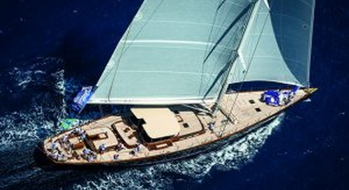 Exclusive cruising tales: beautiful supersailing yacht Atalante