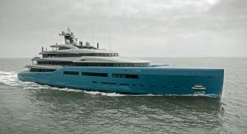 On the water: Abeking & Rasmussen's Aviva